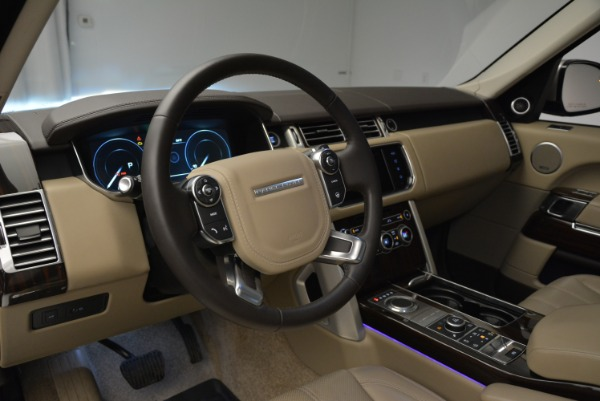 Used 2016 Land Rover Range Rover HSE for sale Sold at Bugatti of Greenwich in Greenwich CT 06830 20