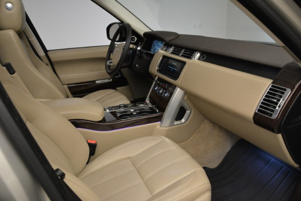 Used 2016 Land Rover Range Rover HSE for sale Sold at Bugatti of Greenwich in Greenwich CT 06830 27