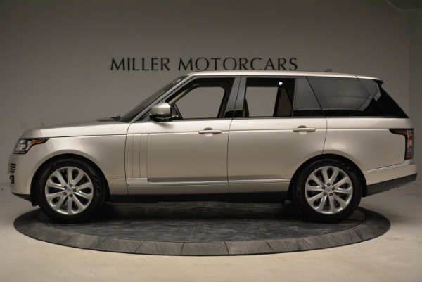 Used 2016 Land Rover Range Rover HSE for sale Sold at Bugatti of Greenwich in Greenwich CT 06830 3
