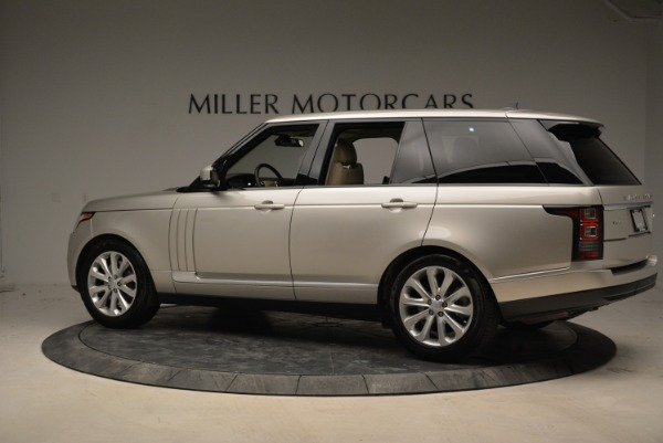 Used 2016 Land Rover Range Rover HSE for sale Sold at Bugatti of Greenwich in Greenwich CT 06830 4