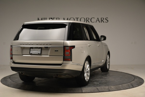 Used 2016 Land Rover Range Rover HSE for sale Sold at Bugatti of Greenwich in Greenwich CT 06830 7