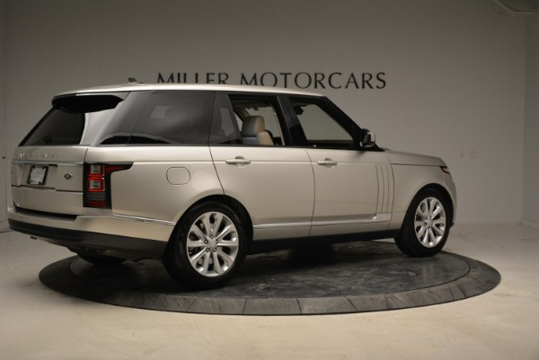 Used 2016 Land Rover Range Rover HSE for sale Sold at Bugatti of Greenwich in Greenwich CT 06830 8