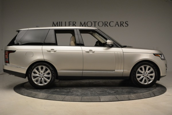 Used 2016 Land Rover Range Rover HSE for sale Sold at Bugatti of Greenwich in Greenwich CT 06830 9