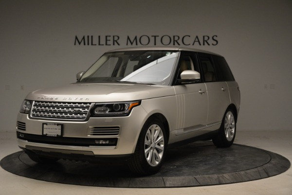 Used 2016 Land Rover Range Rover HSE for sale Sold at Bugatti of Greenwich in Greenwich CT 06830 1