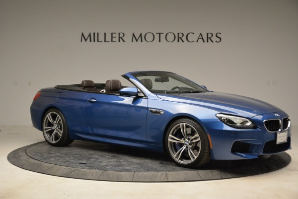 Used 2013 BMW M6 Convertible for sale Sold at Bugatti of Greenwich in Greenwich CT 06830 10