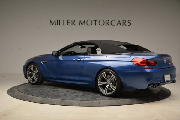 Used 2013 BMW M6 Convertible for sale Sold at Bugatti of Greenwich in Greenwich CT 06830 16