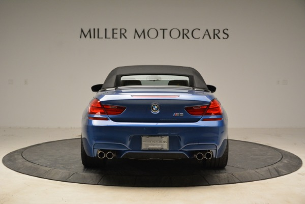 Used 2013 BMW M6 Convertible for sale Sold at Bugatti of Greenwich in Greenwich CT 06830 18