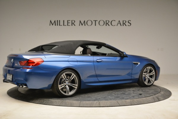 Used 2013 BMW M6 Convertible for sale Sold at Bugatti of Greenwich in Greenwich CT 06830 20