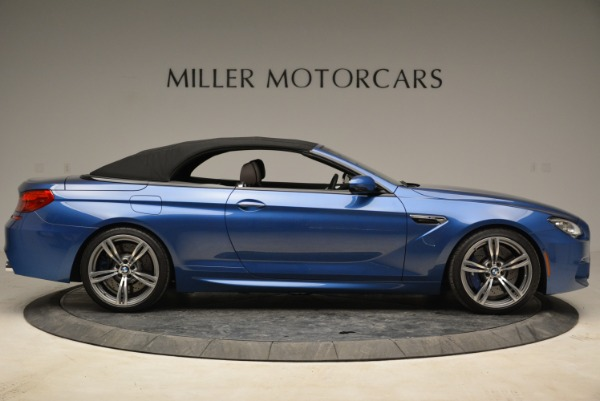 Used 2013 BMW M6 Convertible for sale Sold at Bugatti of Greenwich in Greenwich CT 06830 21