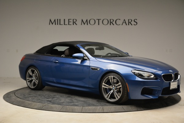 Used 2013 BMW M6 Convertible for sale Sold at Bugatti of Greenwich in Greenwich CT 06830 22