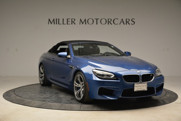 Used 2013 BMW M6 Convertible for sale Sold at Bugatti of Greenwich in Greenwich CT 06830 23