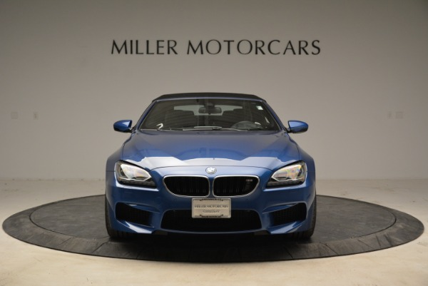 Used 2013 BMW M6 Convertible for sale Sold at Bugatti of Greenwich in Greenwich CT 06830 24