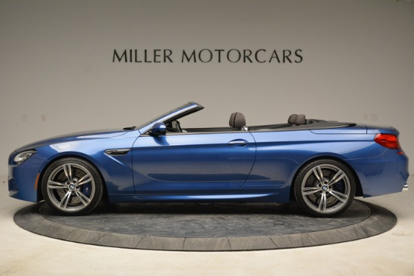 Used 2013 BMW M6 Convertible for sale Sold at Bugatti of Greenwich in Greenwich CT 06830 3