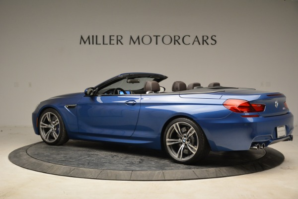 Used 2013 BMW M6 Convertible for sale Sold at Bugatti of Greenwich in Greenwich CT 06830 4