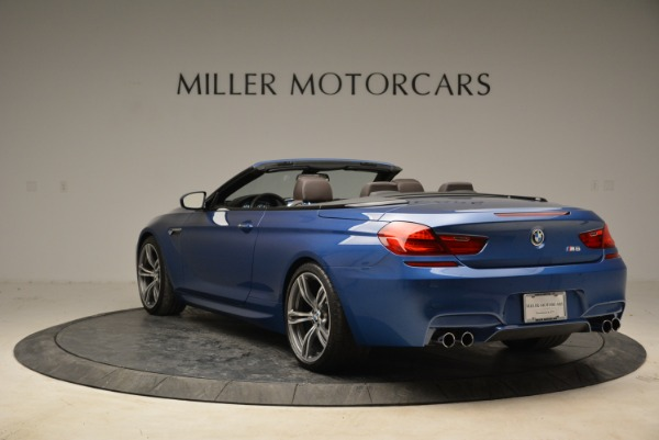 Used 2013 BMW M6 Convertible for sale Sold at Bugatti of Greenwich in Greenwich CT 06830 5
