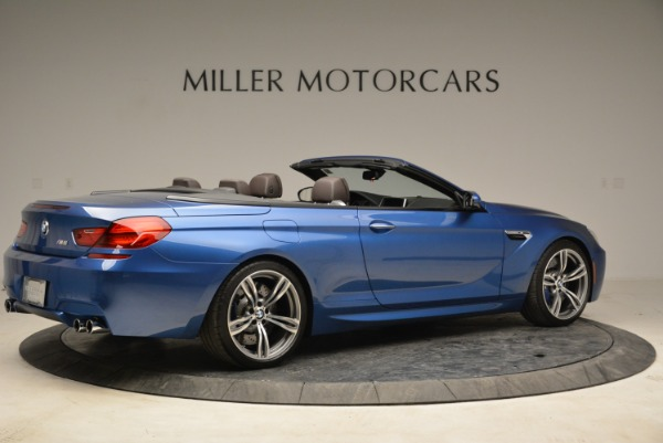 Used 2013 BMW M6 Convertible for sale Sold at Bugatti of Greenwich in Greenwich CT 06830 8
