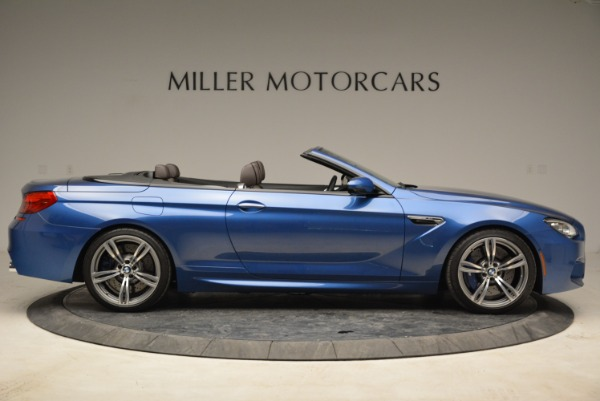 Used 2013 BMW M6 Convertible for sale Sold at Bugatti of Greenwich in Greenwich CT 06830 9