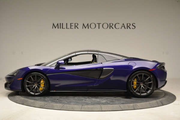 New 2018 McLaren 570S Spider for sale Sold at Bugatti of Greenwich in Greenwich CT 06830 15