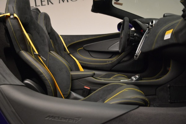 New 2018 McLaren 570S Spider for sale Sold at Bugatti of Greenwich in Greenwich CT 06830 27