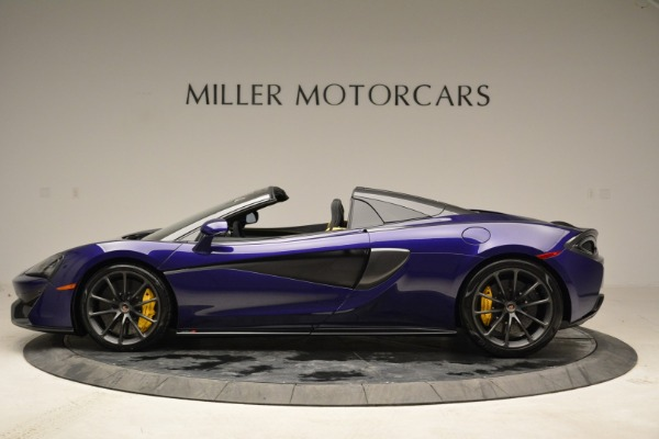New 2018 McLaren 570S Spider for sale Sold at Bugatti of Greenwich in Greenwich CT 06830 3