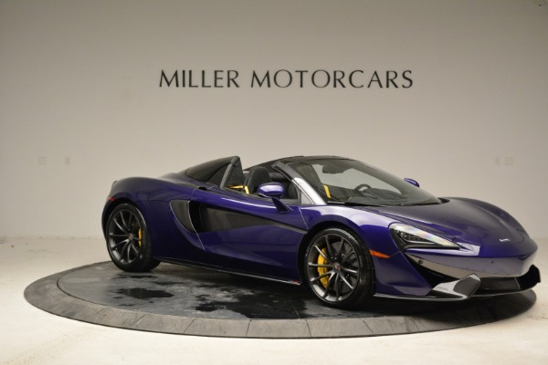 New 2018 McLaren 570S Spider for sale Sold at Bugatti of Greenwich in Greenwich CT 06830 9