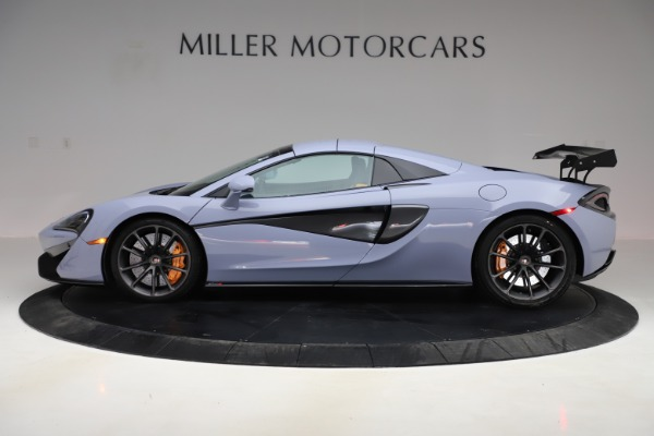 Used 2018 McLaren 570S Spider for sale Sold at Bugatti of Greenwich in Greenwich CT 06830 11