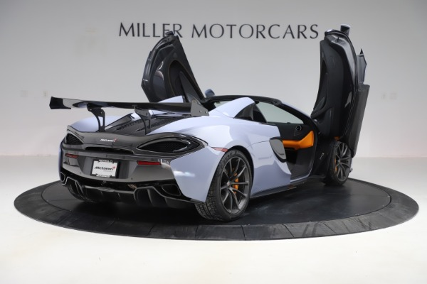 Used 2018 McLaren 570S Spider for sale Sold at Bugatti of Greenwich in Greenwich CT 06830 22