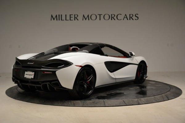 New 2018 McLaren 570S Spider for sale Sold at Bugatti of Greenwich in Greenwich CT 06830 19