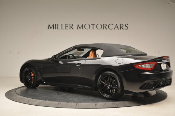 New 2018 Maserati GranTurismo MC Convertible for sale Sold at Bugatti of Greenwich in Greenwich CT 06830 14