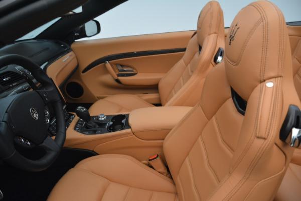 New 2018 Maserati GranTurismo MC Convertible for sale Sold at Bugatti of Greenwich in Greenwich CT 06830 25