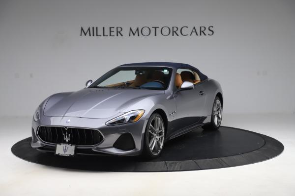 Used 2018 Maserati GranTurismo Sport Convertible for sale Sold at Bugatti of Greenwich in Greenwich CT 06830 14