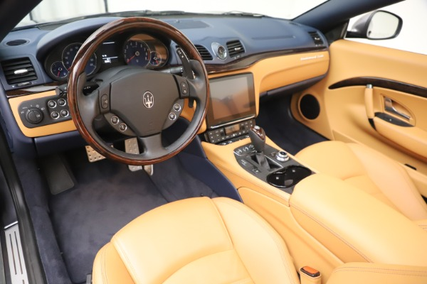 Used 2018 Maserati GranTurismo Sport Convertible for sale Sold at Bugatti of Greenwich in Greenwich CT 06830 19