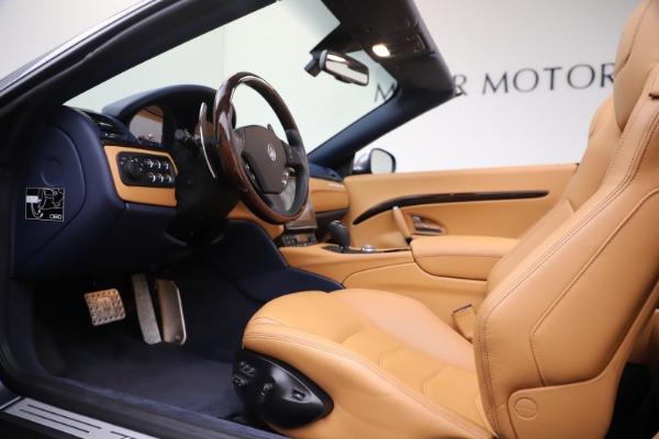 Used 2018 Maserati GranTurismo Sport Convertible for sale Sold at Bugatti of Greenwich in Greenwich CT 06830 20
