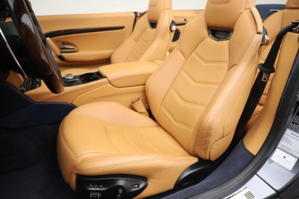 Used 2018 Maserati GranTurismo Sport Convertible for sale Sold at Bugatti of Greenwich in Greenwich CT 06830 21
