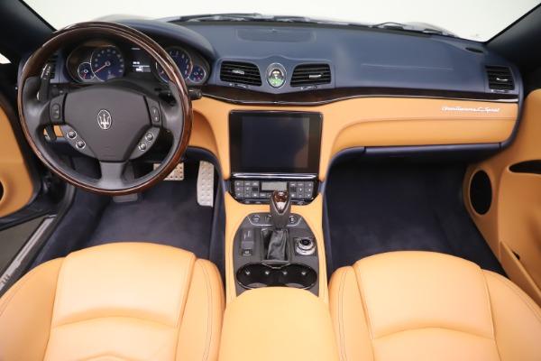 Used 2018 Maserati GranTurismo Sport Convertible for sale Sold at Bugatti of Greenwich in Greenwich CT 06830 22