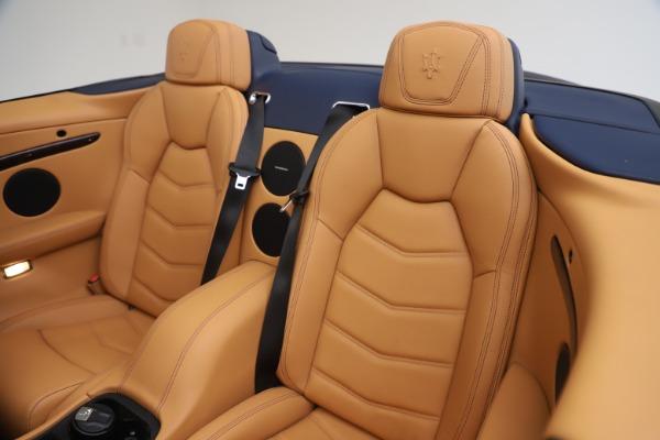 Used 2018 Maserati GranTurismo Sport Convertible for sale Sold at Bugatti of Greenwich in Greenwich CT 06830 24