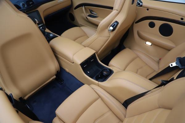 Used 2018 Maserati GranTurismo Sport Convertible for sale Sold at Bugatti of Greenwich in Greenwich CT 06830 25