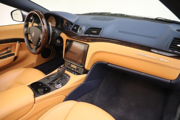 Used 2018 Maserati GranTurismo Sport Convertible for sale Sold at Bugatti of Greenwich in Greenwich CT 06830 26