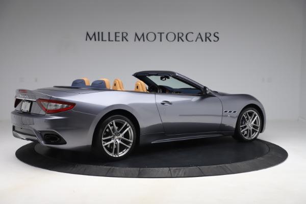 Used 2018 Maserati GranTurismo Sport Convertible for sale Sold at Bugatti of Greenwich in Greenwich CT 06830 8