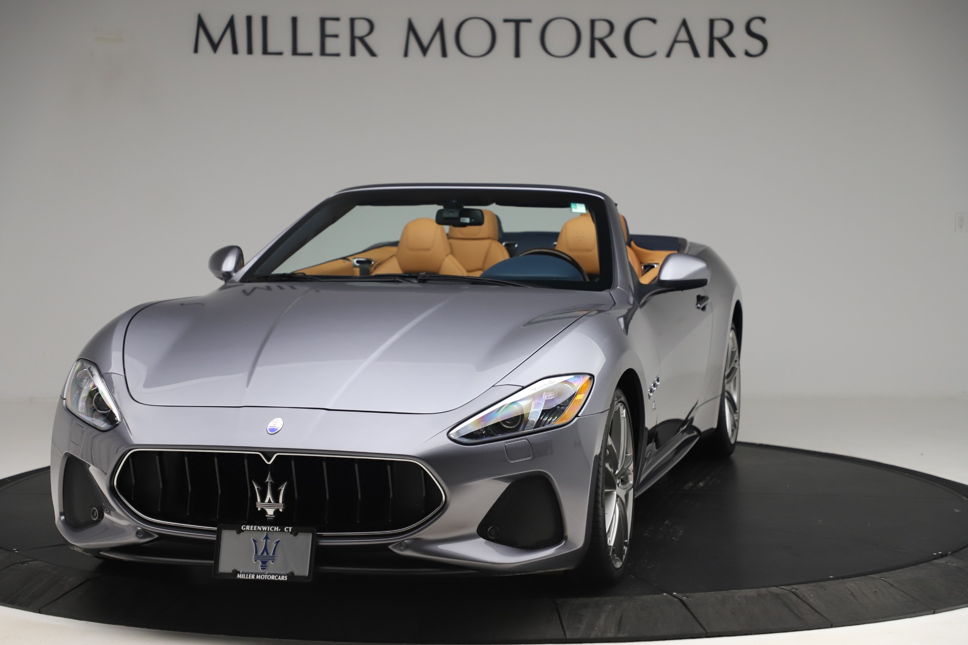 Used 2018 Maserati GranTurismo Sport Convertible for sale Sold at Bugatti of Greenwich in Greenwich CT 06830 1