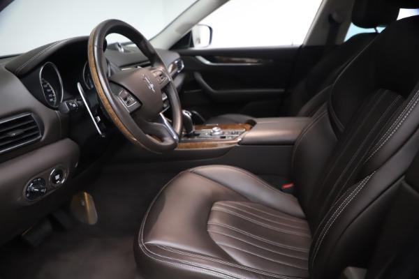 Used 2018 Maserati Levante S Q4 GranLusso for sale $67,900 at Bugatti of Greenwich in Greenwich CT 06830 13