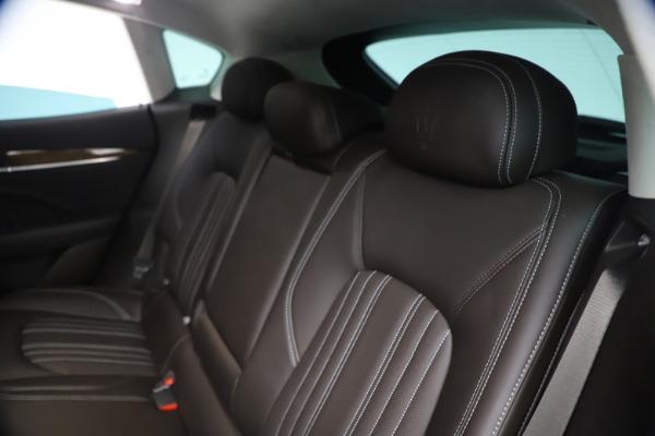 Used 2018 Maserati Levante S Q4 GranLusso for sale $67,900 at Bugatti of Greenwich in Greenwich CT 06830 18