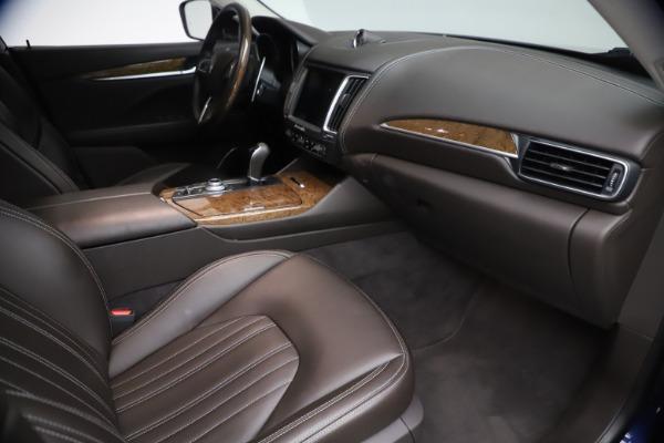 Used 2018 Maserati Levante S Q4 GranLusso for sale $67,900 at Bugatti of Greenwich in Greenwich CT 06830 20