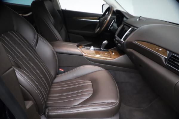 Used 2018 Maserati Levante S Q4 GranLusso for sale $67,900 at Bugatti of Greenwich in Greenwich CT 06830 21