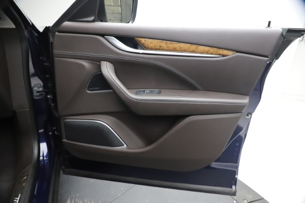 New 2018 Maserati Levante S Q4 GranLusso for sale Sold at Bugatti of Greenwich in Greenwich CT 06830 22