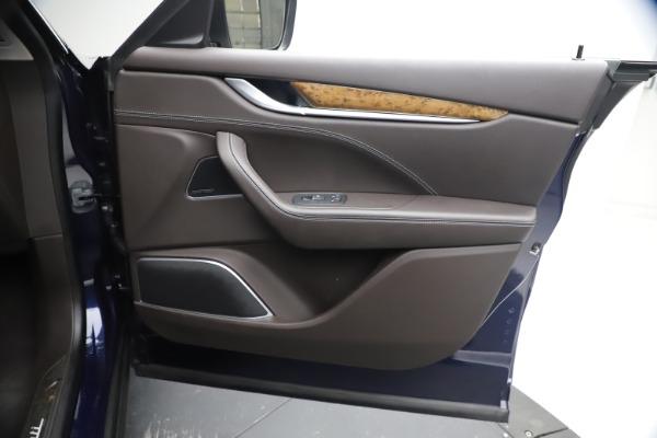 Used 2018 Maserati Levante S Q4 GranLusso for sale $67,900 at Bugatti of Greenwich in Greenwich CT 06830 22