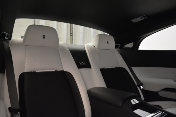 Used 2017 Rolls-Royce Wraith Black Badge for sale Sold at Bugatti of Greenwich in Greenwich CT 06830 27