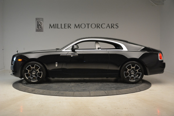 Used 2017 Rolls-Royce Wraith Black Badge for sale Sold at Bugatti of Greenwich in Greenwich CT 06830 3
