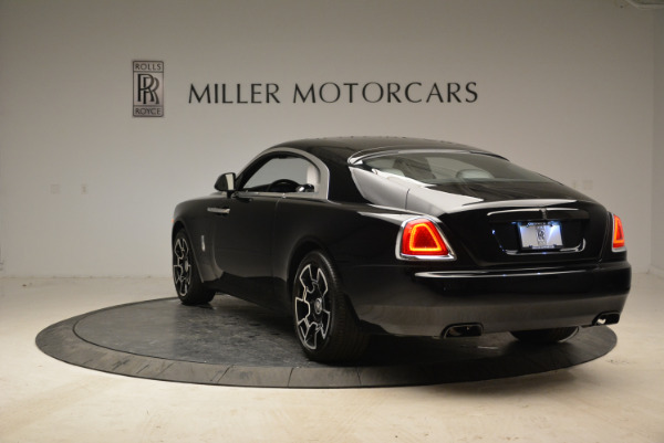 Used 2017 Rolls-Royce Wraith Black Badge for sale Sold at Bugatti of Greenwich in Greenwich CT 06830 5