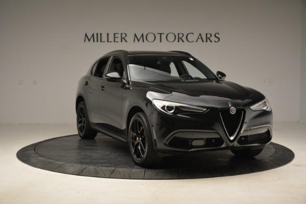New 2018 Alfa Romeo Stelvio Ti Sport Q4 for sale Sold at Bugatti of Greenwich in Greenwich CT 06830 11